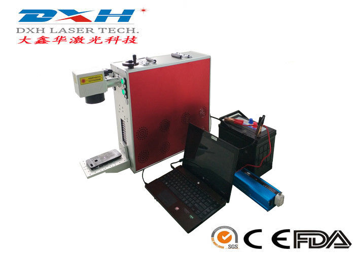 Portable Laser Marking Machine , Mini Fiber Laser Marking Machine 20W 30W 50W supplier