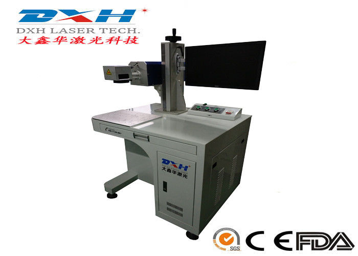 Co2 IPG Laser Source Automatic Laser Marking Machine For Plastic EZCAD Control Software supplier