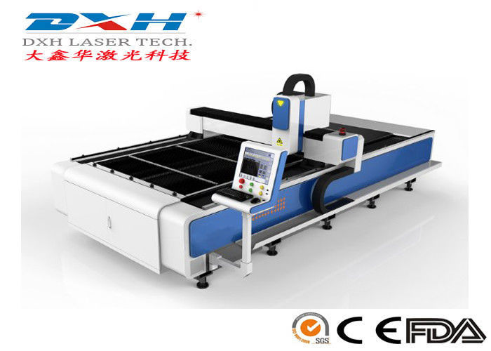 High Output Power Sheet Metal Laser Cutting Machine With PC Control System supplier