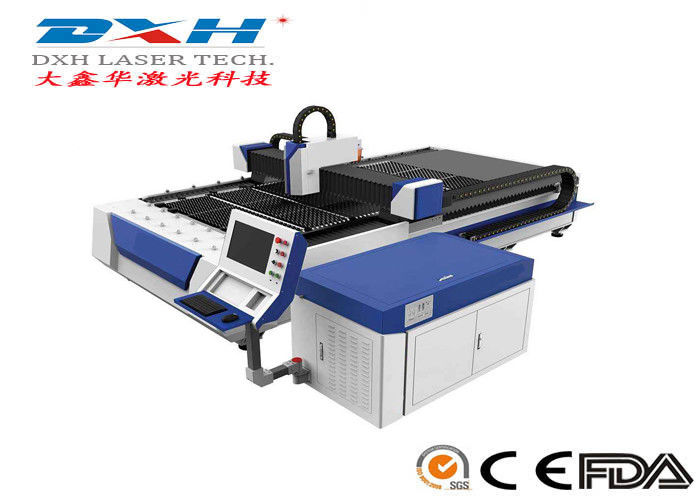 Computerized Metal Laser Cutting Machine / CNC Laser Cutter Engraver 380V/50HZ supplier