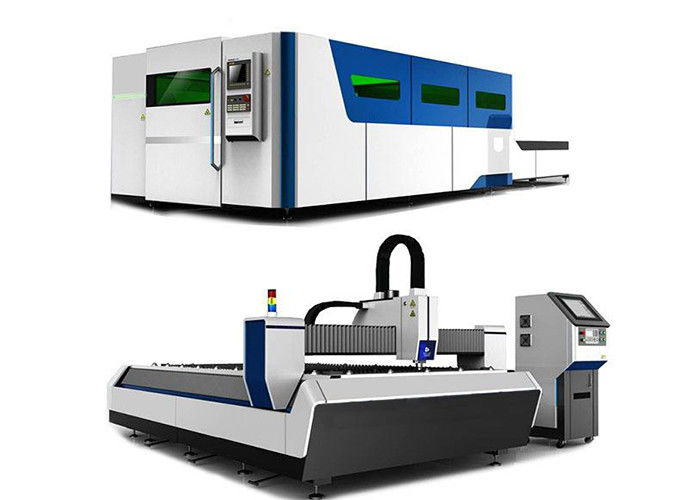 380V/50HZ CNC Laser Cutting And Engraving Machine , Iron Laser Cutting Machine supplier