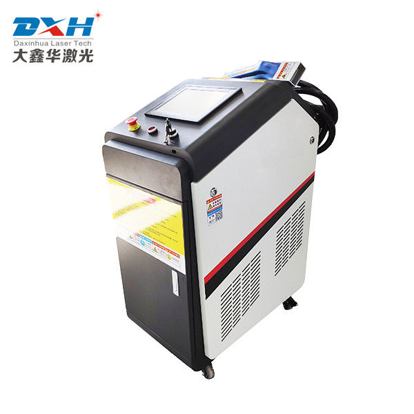 Non Contact Laser Cleaning Machine / Device 1000 Watt Laser Cleaner Electric Fuel supplier