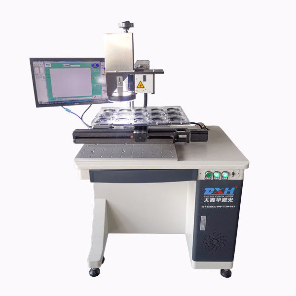 CCD Visual 3D Automatic Laser Marking Machine Small Laser Marker 10-200kHz supplier