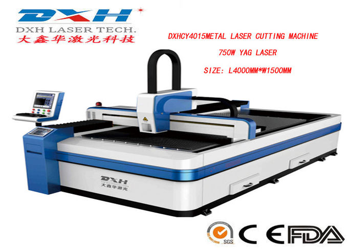Industrial Stainless Steel Laser Cutting Machine , CNC Router Laser Cutting Machine